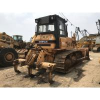 Quality Original Paint Used Caterpillar Bulldozer , 3 Shanks Ripper Cat D6g Dozer for sale