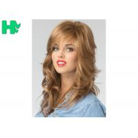 Quality European Hair Wig Synthetic Full Head Glueless Long Heat Resistant Hair Wigs for sale