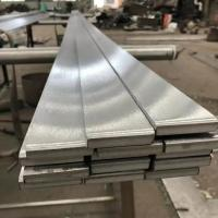 China Long SS 316 Brushed Finish Stainless Steel Flat Bar TP316L Metal Flat Bar on sale