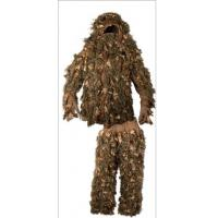 Quality Lightweight Leafy Wear 3D Breakup Camo Suit For Sport Hunting Activities for sale