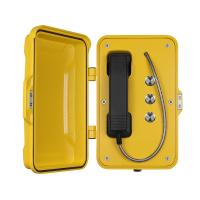 Buy cheap Three Button Outdoor Weatherproof Emergency Phone With Speed Dial Function from wholesalers