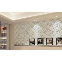 Quality Bily Relief 3D Effect German Plant Fiber Embossed Wallpaper Walls for sale