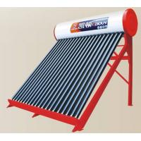 China non-pressurized solar water heater on sale