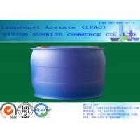 Quality IPAC Isopropyl Acetate Paint Solvent CAS 108-21-4 With Pleasant Fragrance for sale