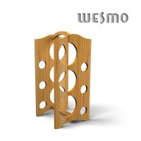 Quality Personalized Wine Accessories, Environmentally Friendly Bamboo Wine Rack WTB0307A for sale