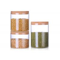 China 2L 2.5L 3.5L Blown Wide Mouth Glass Jars , Ball Wide Mouth Canning Jars on sale