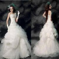 Quality Strapless Ball Gown Bridal Gown (PF10029) for sale