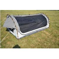 Quality Fire Prevention 2 Person Swag Tent , Canvas Camping Swag Tent Sun Shelter for sale