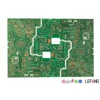 China Double Sided FR4 PCB Board 1 - 40 Layer PCB 0.1 / 0.1 MM Line Trace Width / Space on sale
