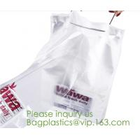 Quality OPP Stand Up Pouch Flower Potted Plant Sleeves Microperforated CPP Bread Bags Bakery for sale