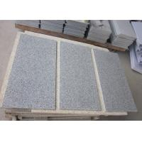Buy cheap China Bianco Sardo Grey G603 Granite Stone Tiles , Light Grey Granite Tiles from wholesalers