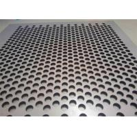 China Customized Size Perforated Metal Cladding Panels Galvanized Metal And SS Sheet on sale