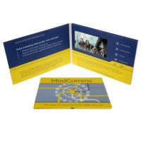 Quality CMYK Printing  LCD Promotional Video Card Electronic Printed Video Cards for sale