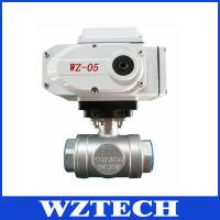 Quality Welding Connection 2 Way WCB Motorized Actuator Valve, Hard Sealing Electric Valve for sale