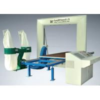 Quality Industrial Computer 2D EPE / PU Foam Profiler Cutting Machine 5 KW 1.3 - 1.5mm for sale