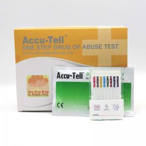 Quality Accu-Tell® Multi-Drug Fast-Dip Rapid Test Panel (Urine) for sale