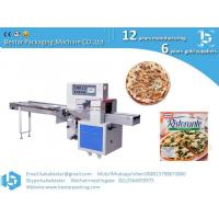 Quality Frozen handmade thick-soled pizza high speed automatic pillow type packing machine for sale