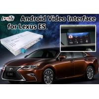 Quality Android 6.0 Video Interface GPS Navigator for Lexus ES 2012-2018 with Knob Control Mirrorlink ES200 ES250 ES300h ES350 for sale