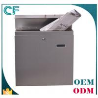 China High quantity Stainless steel Mailboxes Letterboxes Postboxes from china on sale