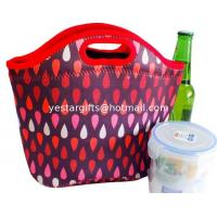 Quality Insulated Neoprene Lunch Tote Food Standard For Office With Handle for sale