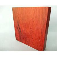 Buy cheap T5 , T6 Red Wardrobe Aluminium Profile Lenth Or Shape Customized from wholesalers