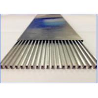 Quality Heater Welding Aluminum Tubing , High Frequency Welded Aluminum Rectangular Tubing for sale