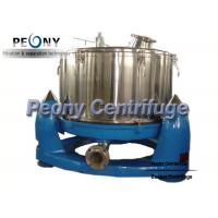 Quality Manual Discharge Vertical Basket Centrifuge , Bag Lifting Top Discharge Centrifuge Machine for sale