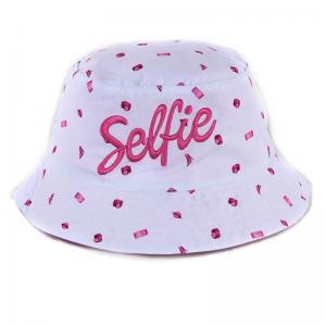 Quality Foldable Promotional Bucket Hats , Reversible Mens Short Brim Bucket Hat for sale