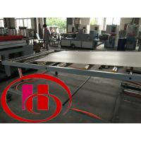 Buy cheap wood and plastic composite wpc foamed  hard surface board extruder,machine product