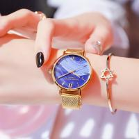 Quality Waterproof French Minority Quartz Ladies Wrist Watches Japanese Quartz Movement for sale