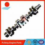 Quality Komatsu 6D140 crankshaft supplier in China, forged steel crankshaft 6162-33-1131 6211-31-1010 6211-31-1110 6261-31-1200 for sale