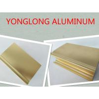 Quality High Gloss And Smooth Aluminium Profiles For Windows And Doors 1.2 Thinckness for sale