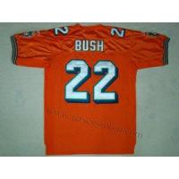 China Miami Dolphins 22 Reggie Bush Orange Jersey on sale