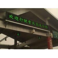 Quality Energy saving Traffic High Way LED Moving Message Display for sale