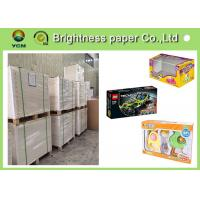 Buy cheap Virgin Wood Pulp C1s Folding Box Board Coated Paper With Full Gsm from wholesalers