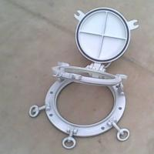 China Marine A60 Fireproof  Double Glazed Windows Aluminum Steel / Stainless Steel on sale