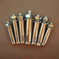 China Industrial Stainless Steel Sleeve Anchor Bolts Easily Penetrate For Dry Environments on sale