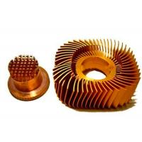 Quality Anodized LED Copper Heat Sink Precision Plated Nickel Surface for sale