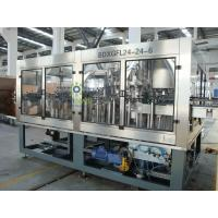 3in1 Monoblock Beer Filling Machine Automatic For Glass Bottle XGF18 ...