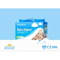 China Breathable Custom Patterned Disposable Diapers Fluff Pulp Material on sale
