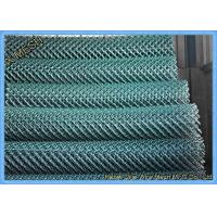 China 10 FT Length Commercial Chain Link Fence Heavy Duty Corrosion Resistant on sale