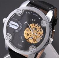 Buy cheap Big Dial Men Hollow Automatic Mechanical Watch Belt Watches product