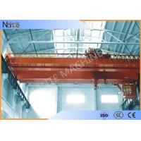 Buy cheap Custom Electric Traveling Double Girder Overhead Cranes For Machine Shops product
