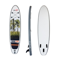 Quality White Plastic 320*76*15CM All Round Paddle Board for sale