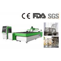 Quality Metal Sheet Fiber Laser Cutting Machine , CNC Laser Cutter For Aluminum , Steel for sale