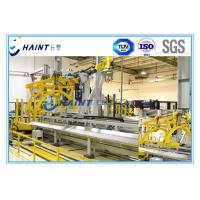 Industrial Textile Roll Packing Machine , Chaint Roll Wrapping Machine