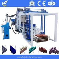China Fuda 8inches hollow block molding machine with QT4-18 machine on sale