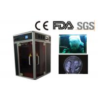 Quality Air Cooling 3D Crystal Laser Engraving Machine Plus 3D Camera for Portrait for sale