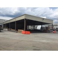 Quality Q345B Warehouse Steel Structure For Stocking With Normal Paint Plus Color Steel Panels for sale