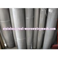 Quality 316 / 304 Stainless Steel Wire Mesh , Twill Dutch Weave Wire Mesh For Chemical Industry for sale